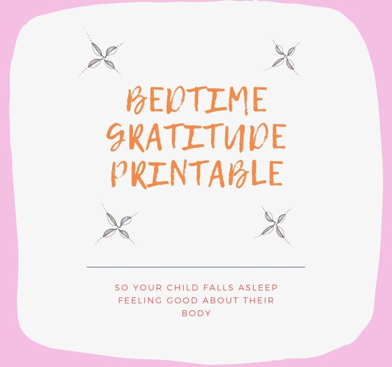 BEDTIME GRATITUDE - graphic for website