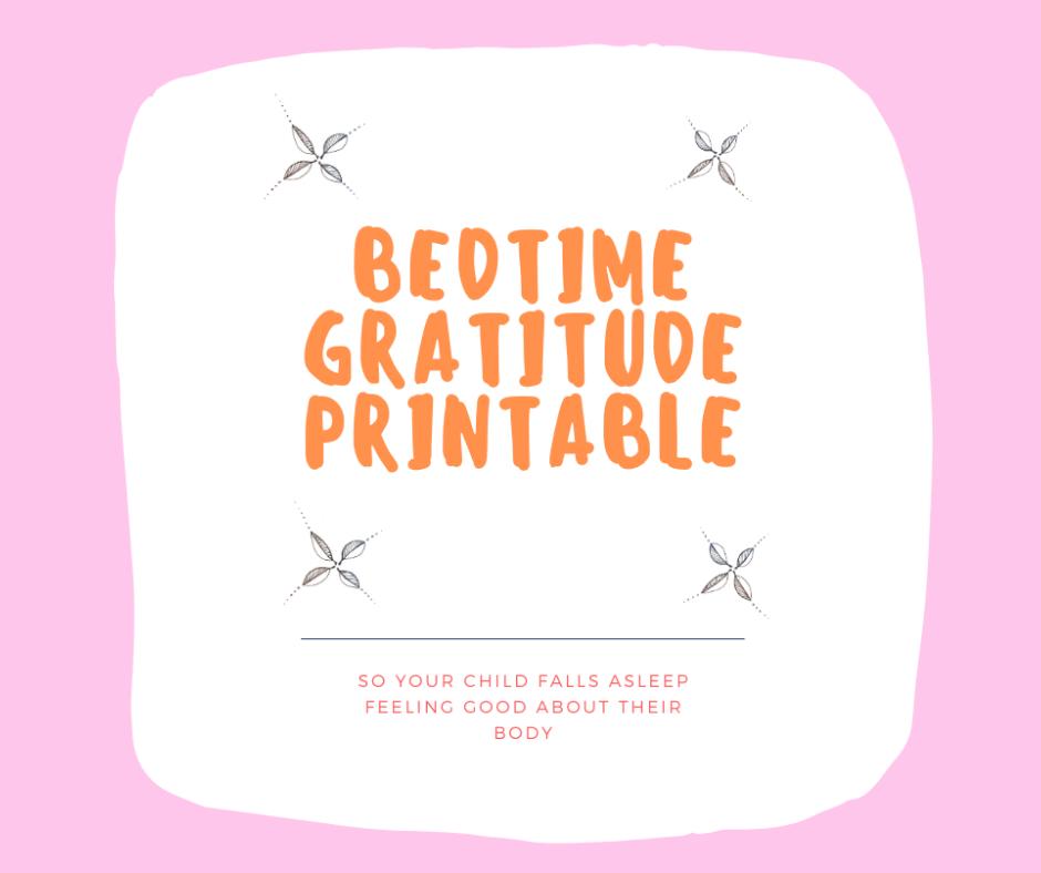 Bedtime gratitude Web Image