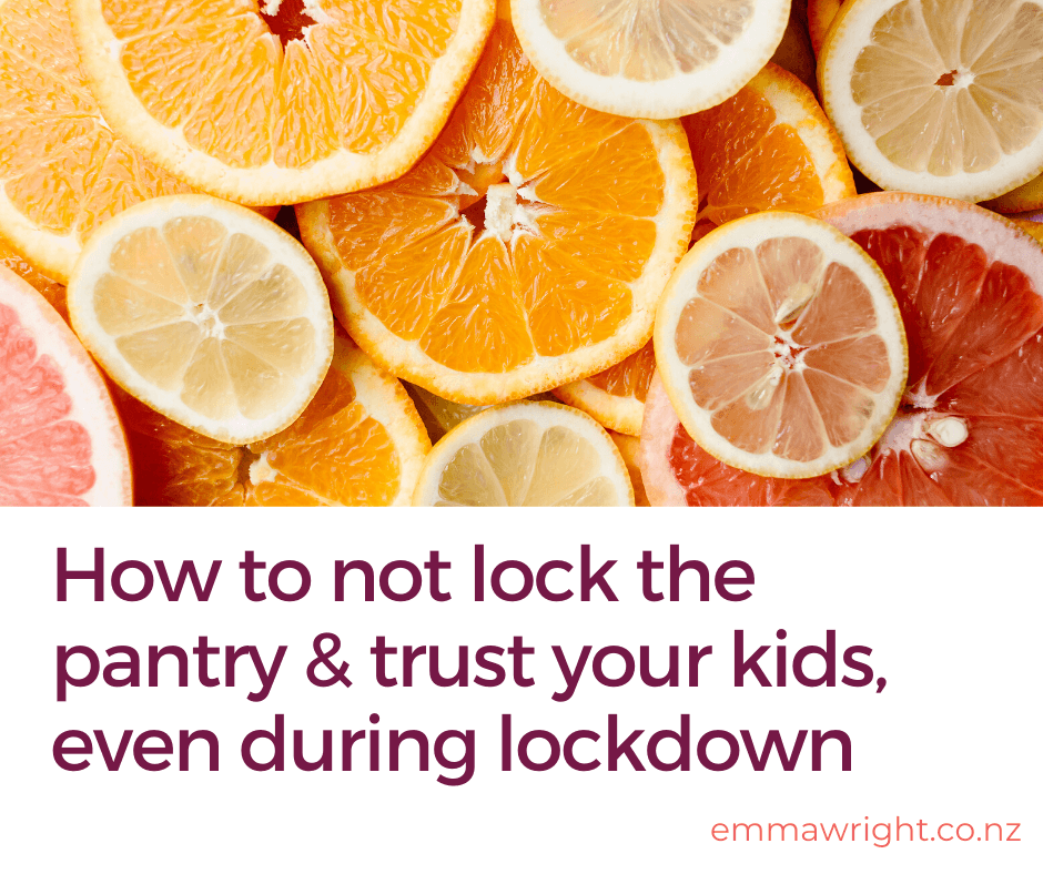 Trust your kids to eat well during lockdown
