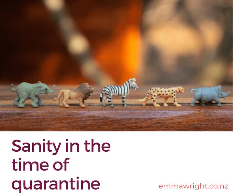Sanity quarantine