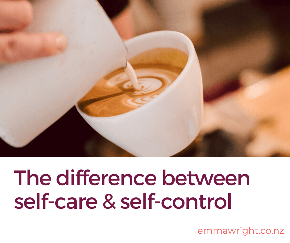 self care vs self control