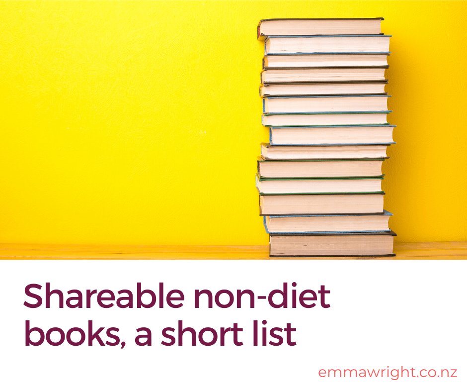 non-diet books, a short list