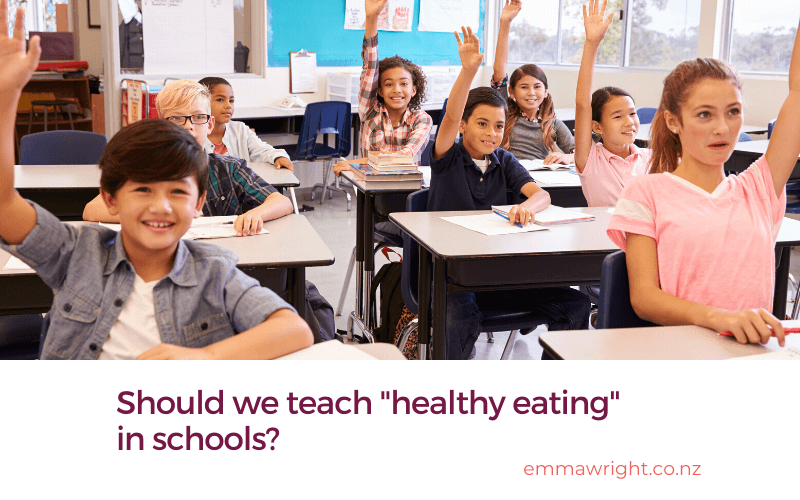 Healthy eating in schools (1)