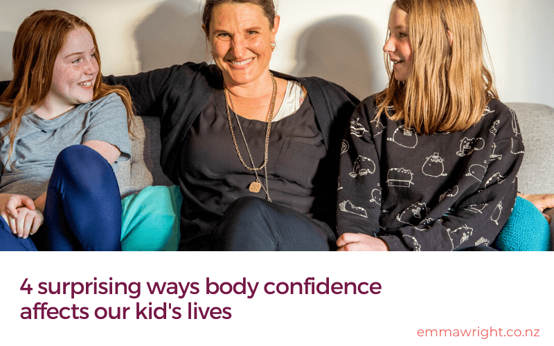 4 surprising ways body confidence affects our kid's lives