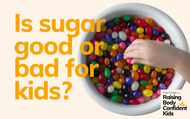 Is sugar good or bad for kids?