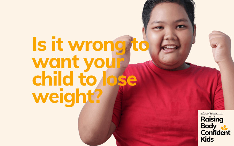 Want your child to lose weight