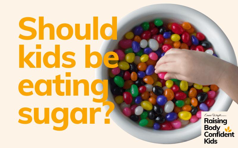 Should kids be eating sugar?